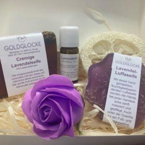 Geschenkbox Lavendel