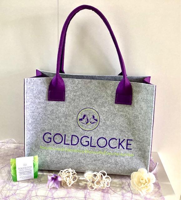 Goldglocke Tasche